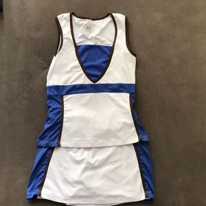 Tail XS Tennis Set - tank and skirt